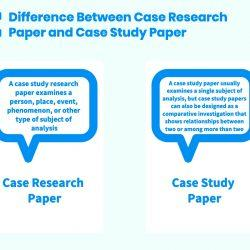 Difference Between Case Research Paper and Case Study Paper
