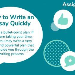 How to Write an Essay Quickly