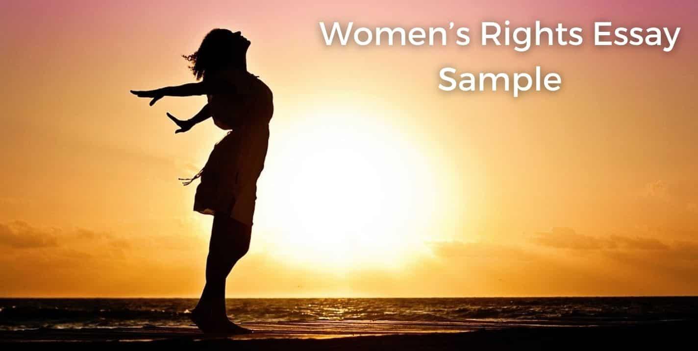 Women's rights essay image