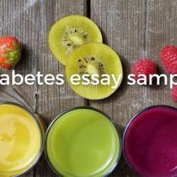 diabetes essay sample image