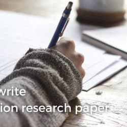 How to write an abortion research paper image.