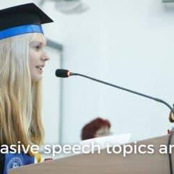 52 persuasive speech topics and ideas image